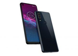 A photo of Motorola Action One smartphone