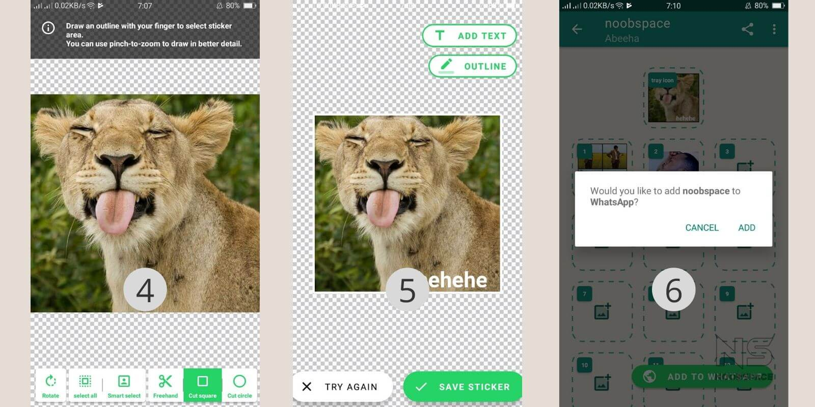 make WhatsApp stickers guide