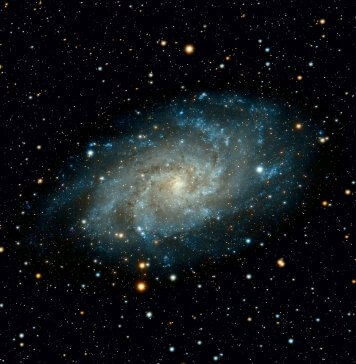 A photo of Space showing a Galaxy