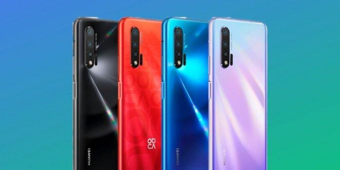 Nova 6 smartphone