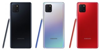 Galaxy Note10 Lite colors