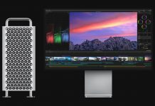 Apple Mac Pro running Final Cut Pro X