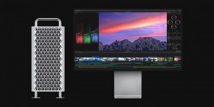 Apple Mac Pro running Final Cut Pro X