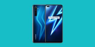Realme 6 Pro in blue color