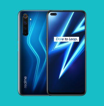 Realme 6 Pro in blue color