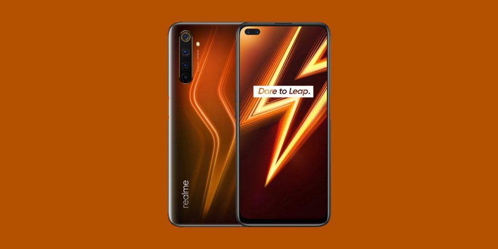 Realme 6 Pro in orange color