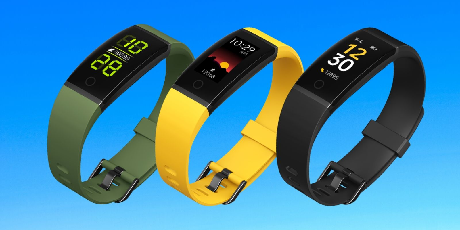 Realme band colors
