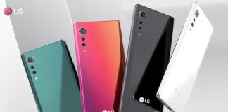 LG Velvet new colors