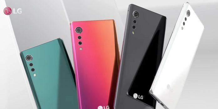 LG Velvet new colors