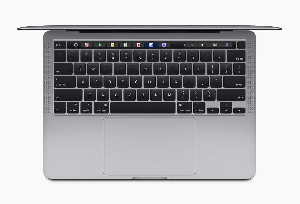 New Magic Keyboard in 13-inch MacBook Pro 2020 image via Apple