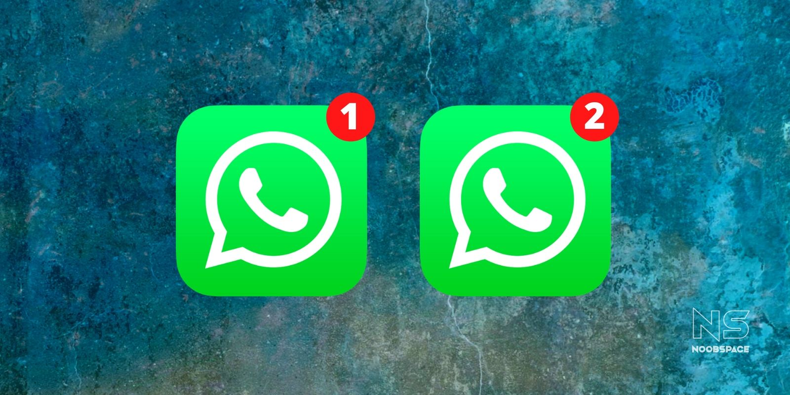 two whatsapp on iPhone