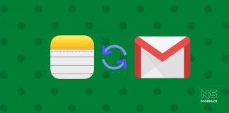 Illustration of syncing iCloud Notes to Gmail