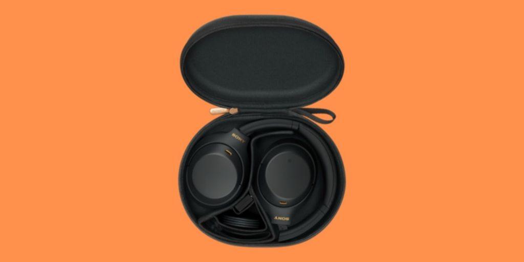 Sony WH-1000XM4 headphones box