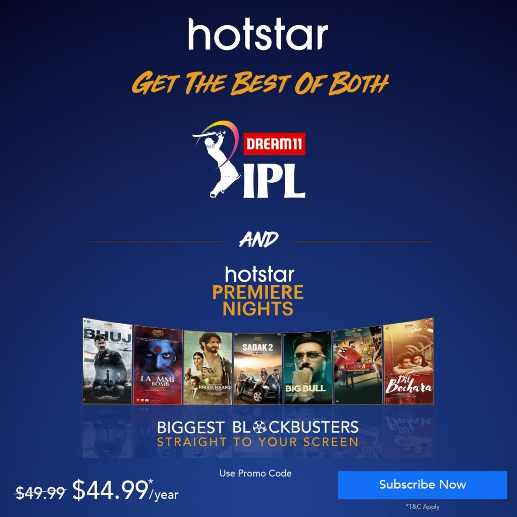 hotstar IPL poster