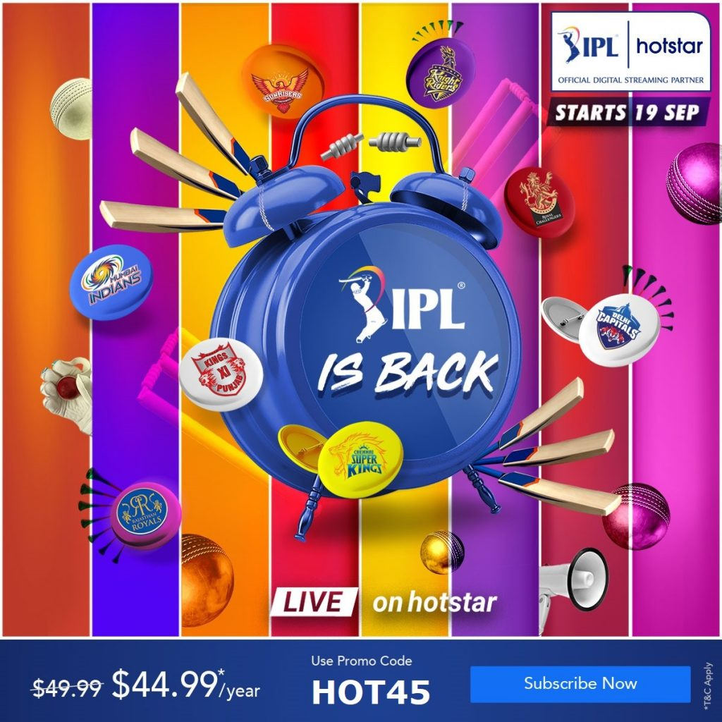 IPL is back