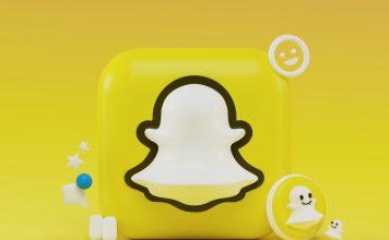 snapchat 3d logo