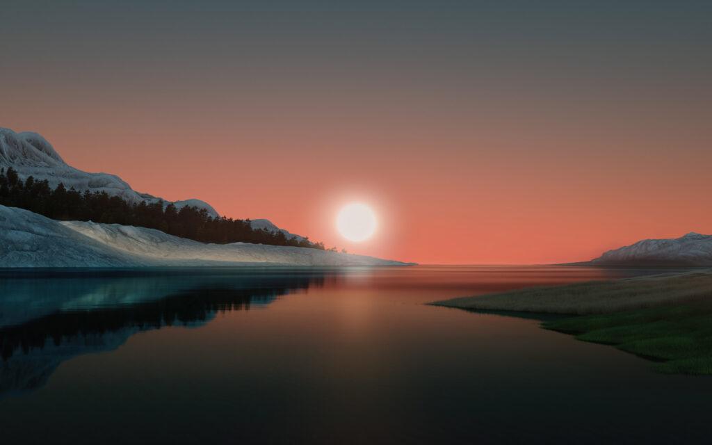 Windows 11 sunrise wallpaper